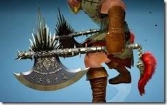 Berserker Gladiator Axe Drawn