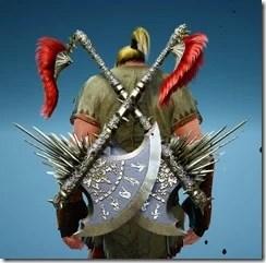 Berserker Gladiator Axe Stowed