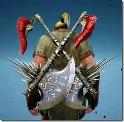 Berserker Gladiator Axe Stowed