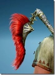 Berserker Gladiator Ornamental Knot Stowed