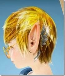 Shai Raven Ear Cuff Front