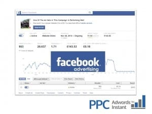 Pay Per Click Facebook Ad Words Instant Blue Dolphin Business Development