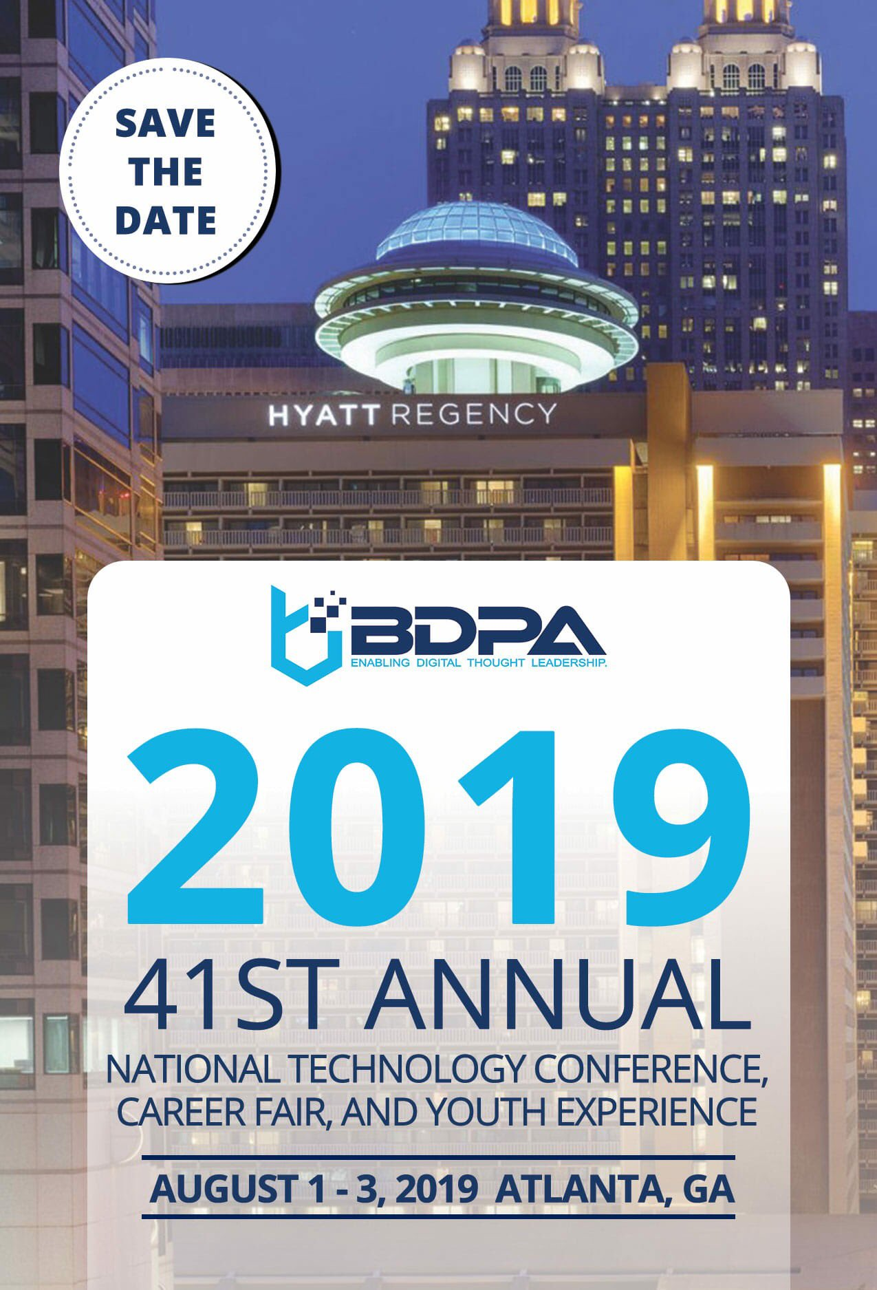 #BDPACON19 | August 1-3, 2019 | Atlanta