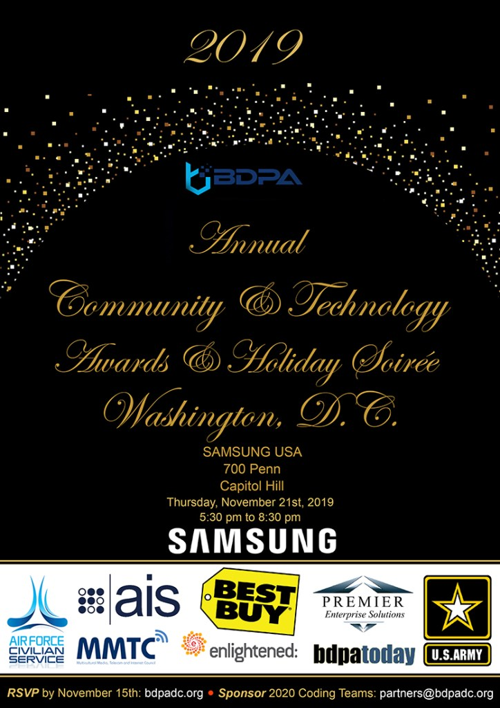 2019 Tech & Community Awards Reception