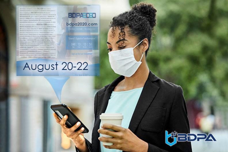 #vBDPA2020 is 100% virtual! Visit bdpa2020.com to participate.
