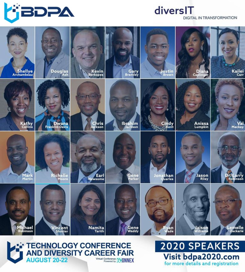 Select here to register for BDPA2020!