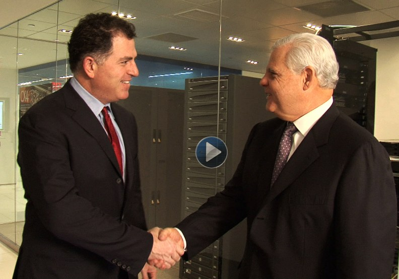 Dell and EMC announce record tech deal.