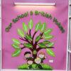 School and British Values display