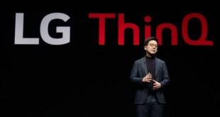 Az LG technológiai vezetője mondott beszédet a 2019-es CES szakkiállítás első napján
