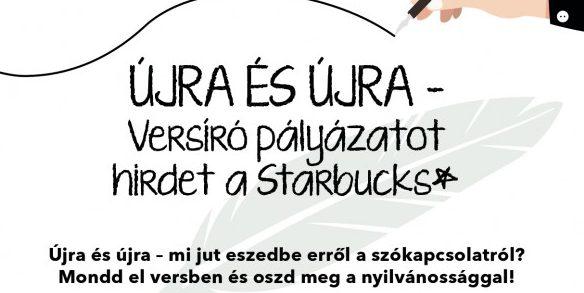 Újra és újra – Versíró pályázatot hirdet a Starbucks