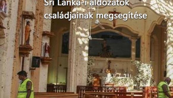 Srí Lanka-i családok megsegítésére gyűjtenek
