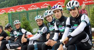 Valtellinaban edzőtáborozott a Kometa Cycling Team