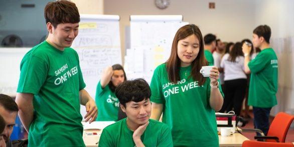 Magyar közösségi kezdeményezéseket segítenek a Samsung önkéntesei