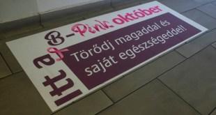 Rózsaszínbe öltözött októberre a tatabányai abroncsgyár
