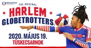 "HARLEM GLOBETROTTERS  ""PUSHING THE LIMITS"" VILÁGKÖRÜLI TURNÉ"
