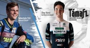 VIDEÓ: Dina Marci kerékpárversenyző és Sebestyén Peti motorversenyző beszélgettek