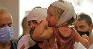 UNICEF: 80 ezer gyerek vált otthontalanná a bejrúti robbanások miatt