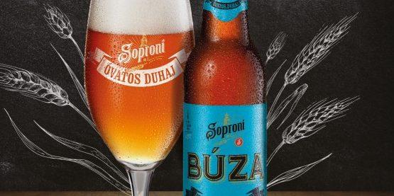 Ha ősz, akkor belga búzasör – itt a Soproni Óvatos Duhaj Búza!