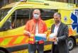 5000 db kézfertőtlenítőt adományoz a Cleanme.life az Országos Mentőszolgálat dolgozóinak