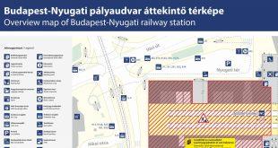 A Nyugati pályaudvar tetőszerkezetének felújítása újabb üteméhez ért