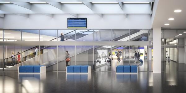 Indulhat az utascentrum építése a Keletiben