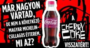 2021 nagy visszatérése! Újra kapható a sokak által hiányolt Cherry Coke!