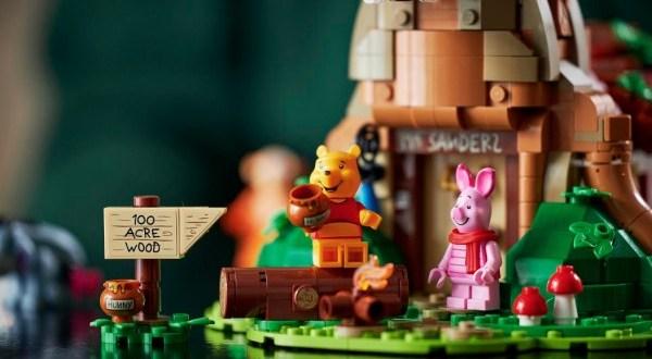 Irány a Százholdas Pagony az új LEGO® Ideas Micimackó készlettel