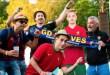 Kiállították Ronaldót – Felfokozott hangulat a budapesti szurkolói zónában