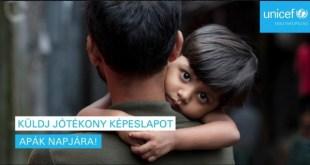 Vasárnap apák napja – különleges képeslappal a rászoruló gyerekeken is segíthetsz