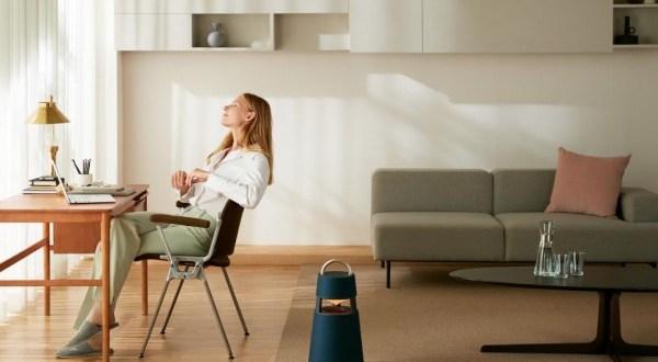 Hangulatvilágítással, egyedi dizájnnal és prémium hangzással érkezik az új LG XBOOM 360 hangszóró
