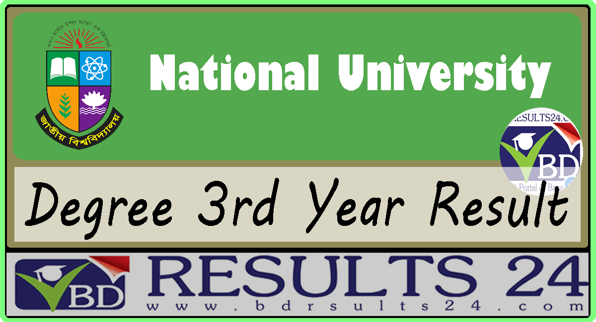 National University Degree 3rd Year Result 2019