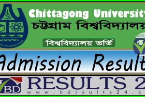 Chittagong University Admission Test Result