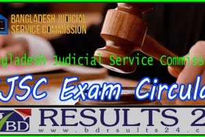 BJSC Exam Circular