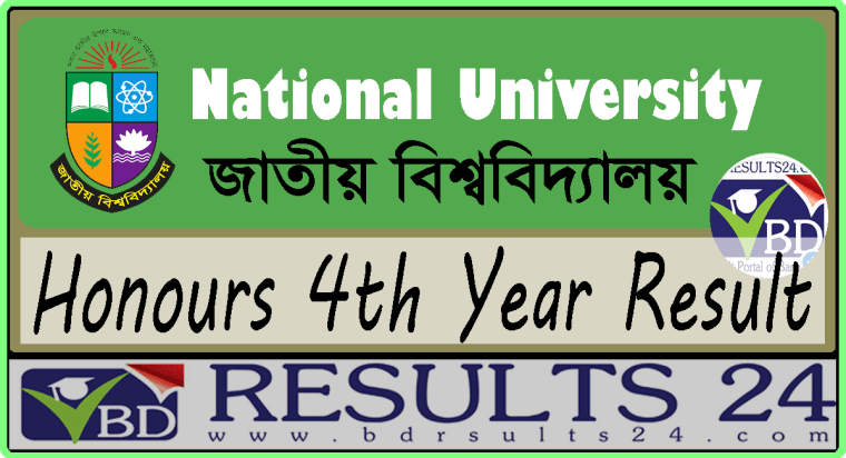 National University Honours 4th Year Result