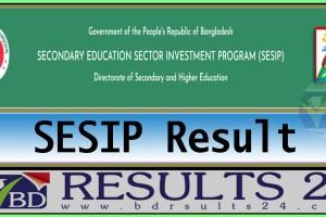 SESIP Result - Education Sector Investment Program