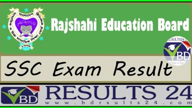 SSC Result Rajshahi Education Board