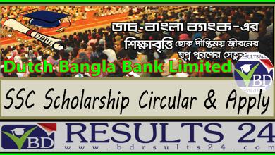 Dutch Bangla Bank SSC Scholarship Circular