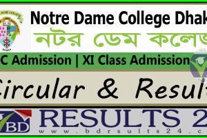 Notre Dame College HSC Admission