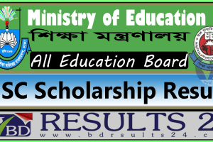 HSC Scholarship Result Education Board