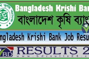 Bangladesh Krishi Bank Job Result