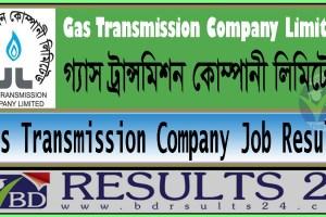 Gas Transmission Company Job Result