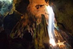 Sunbeam (Niah Caves, Malaysian Borneo)