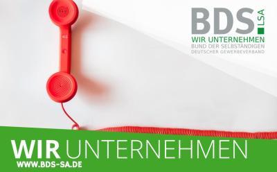 BDS-SA.de Blogcover Bund der Selbststaendigen zum Thema corona virus hotline