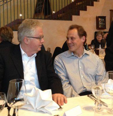 Frank Bösemüller, Landesvorsitzender BDS Sachsen im Gespräch mit Ralph Hollritt, Landesvorsitzender BDS Sachsen-Anhalt