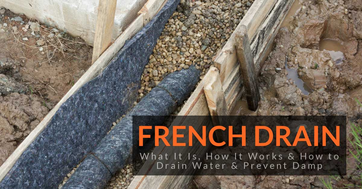 french drain what it is how it works