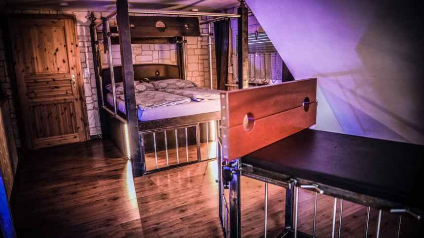 erotischer Urlaub mit vielen Möglichkeiten im BDSM Ferienhaus