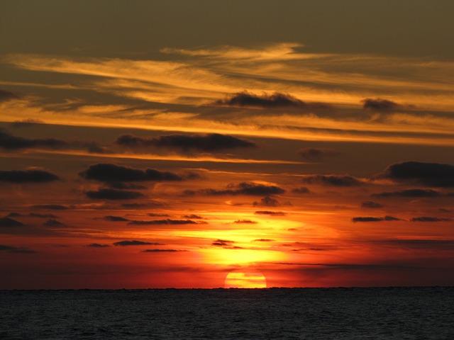 Sonnenuntergang Ostfriesland