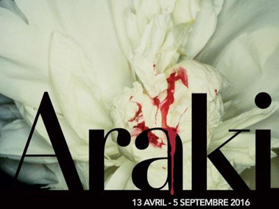 Exposition Araki Paris 2016