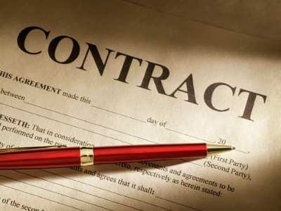 Contrat de soumission