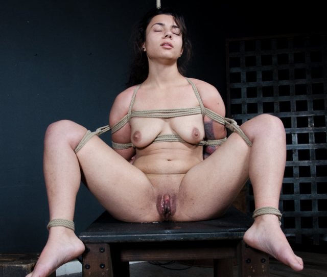 Minnow Monroe Hogtied And Tormented To Orgasm